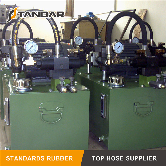 SAE J30 R9 Hydraulic Rubber Fuel Hose from China manufacturer