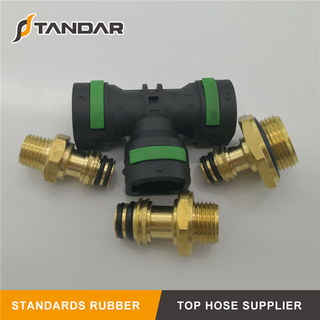 Pneumatic Coupling quick connect air hose fittings for Brake System