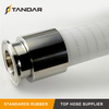 FDA Flexible Transparent SS wire Reinforced Silicone Hose