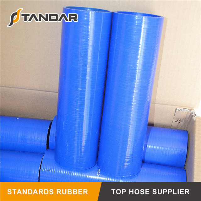 blue High Temperature Pressure Meter Straight Silicone Hose