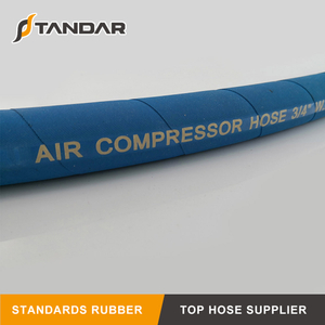 SAE 100 High Temperature Wire Braid Hydraulic Air Comprosser Hose