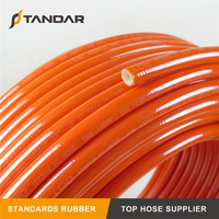 SAE100 R7 Textile Braided Reinforced PA Thermoplastic Hydraulic Hose