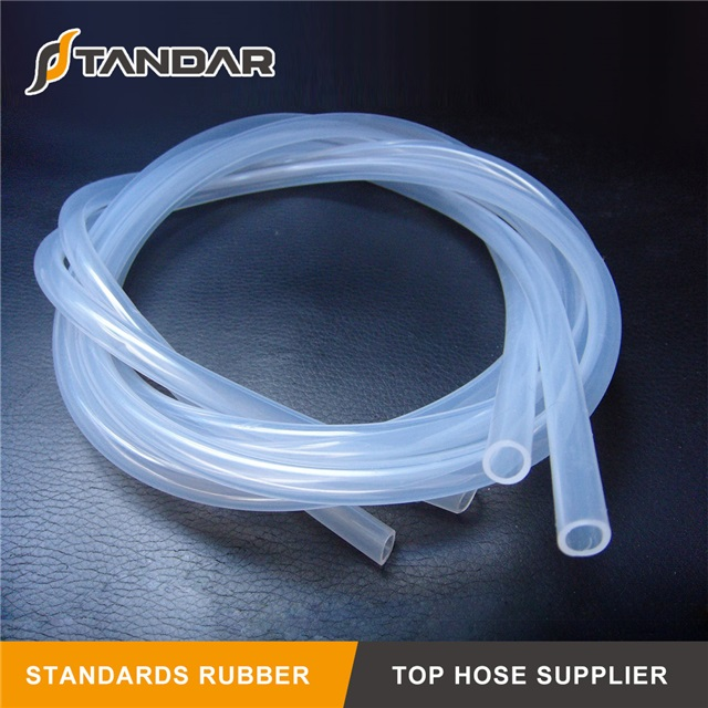 Medical Grade Thin Wall transparent platinum cured Silicone rubber Tubing