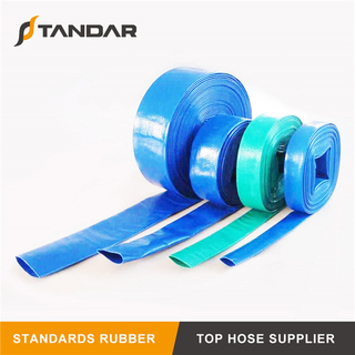12inch Agricultural Colorful PVC Layflat Hose