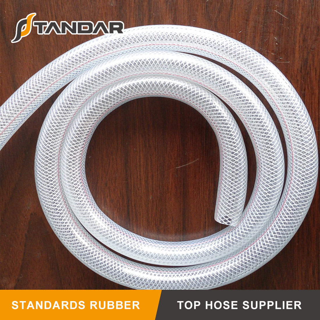 FDA Flexible Food Grade SS wire briaded Reinforced thin wall platinum cured Silicone Hose