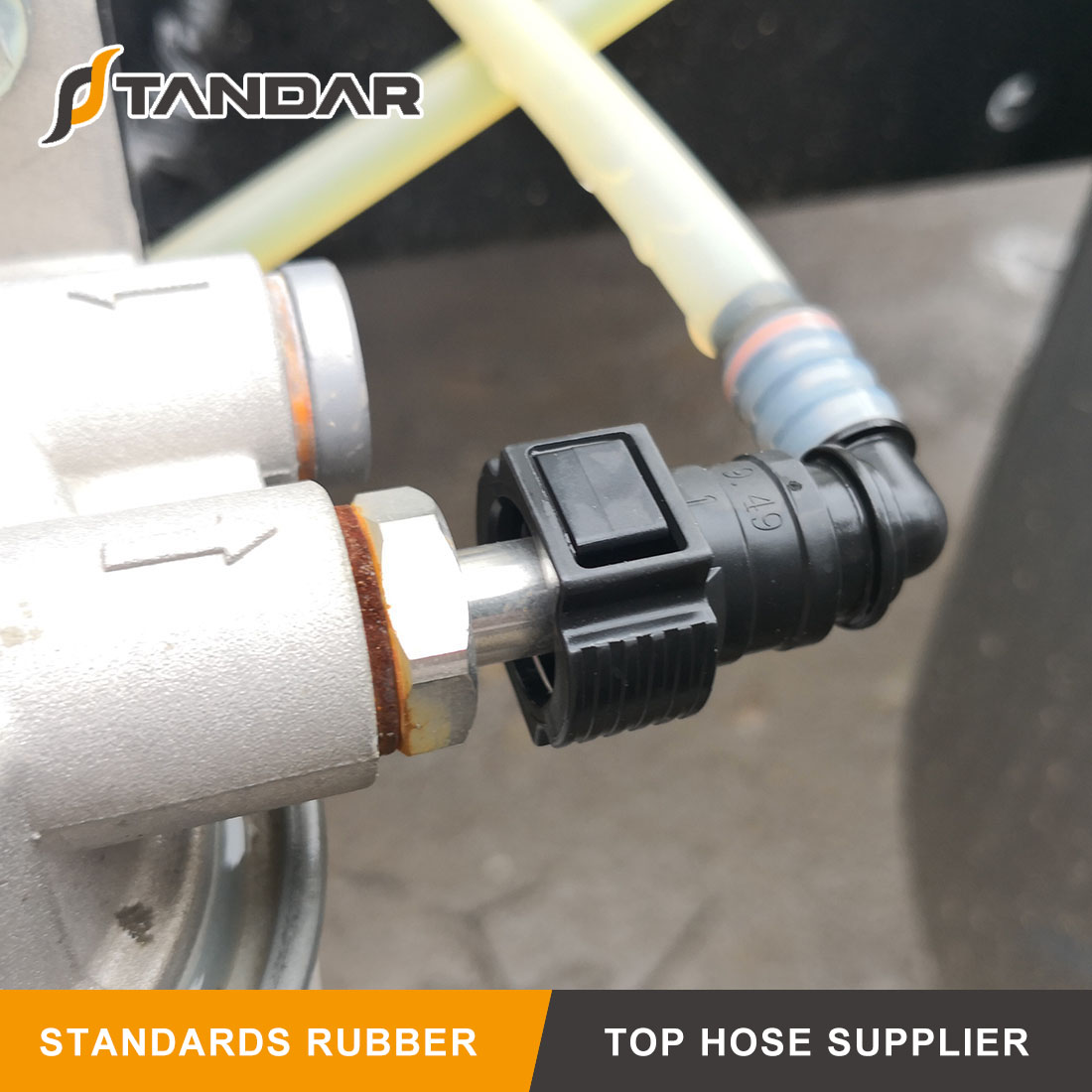 SAE 7.89 Plastic Quick Connector for Fuel Line System