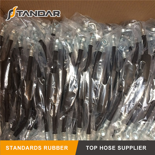 High Pressure Hydraulic Rubber Air Brake Hose for Auto Parts