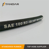 SAE100 R3 Textile Reinforced Hydraulic Rubber Hose