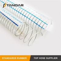 Flexible Transparent PVC Spiral Steel Wire Hose