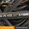 Flexible High Pressure Rubber Cryogenic marine flotaing liquefied natural gas FLNG Hose