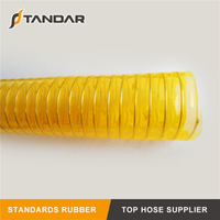 Yellow PVC Steel Wire Inforced Hose