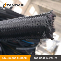 SAE 100 R5 High Temperature steel wire braided reinforced textile cover rubber Hydraulic Hose