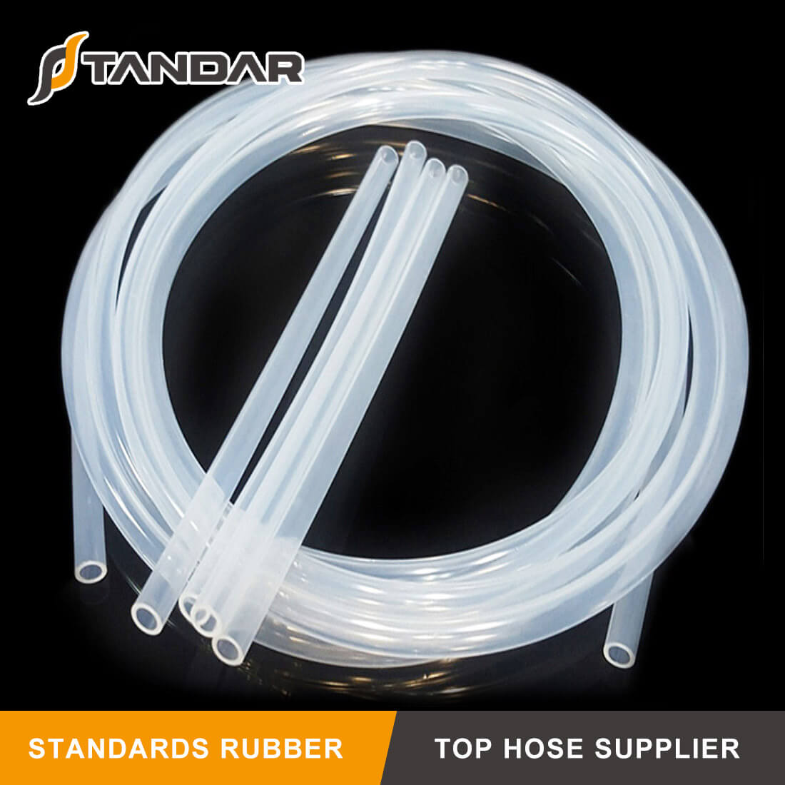 Flexible Transparent FDA Food Grade Silicone Hose For Food Industry