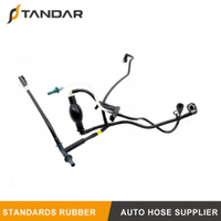1574T1 Fuel Hose Pipe Harness and Primer Pump For Peugeot Bipper