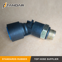 air hose Pneumatic 45° Type Integral Push-in Coupling for Commercial Vehicle