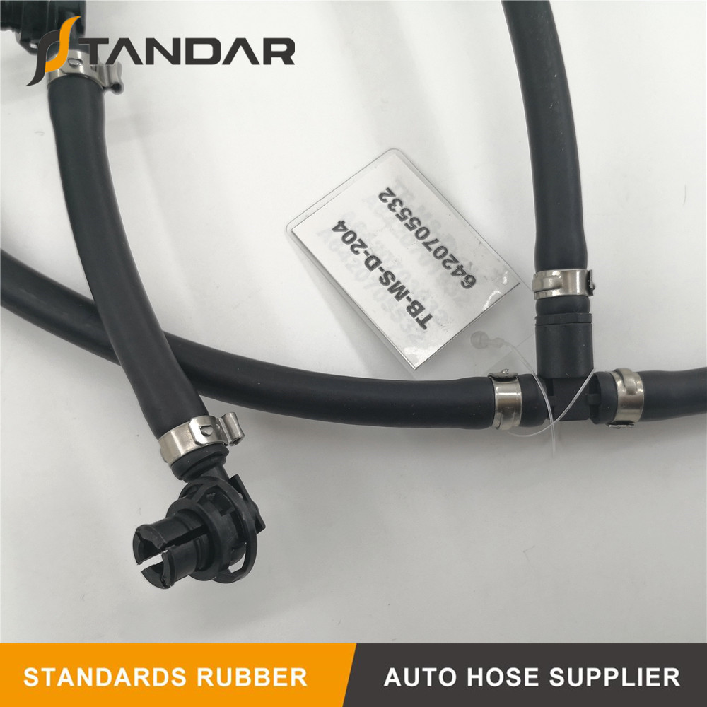 Diesel Fuel Injector return Overflow Hose Pipe For Mercedes Benz A6420705532