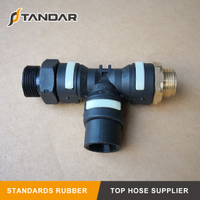 Truck Air Brake Fittings Pneumatic Coupling for Scania and Volvo
